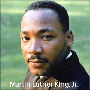MARTIN LUTHER KING, JR. HOLIDAY NO SCHOOL