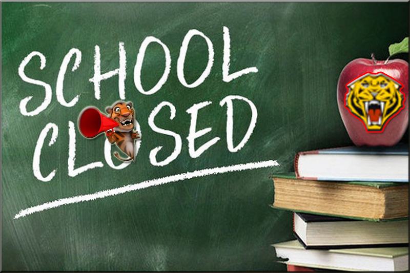 School Closed on Wednesday 12th and Thursday 13th