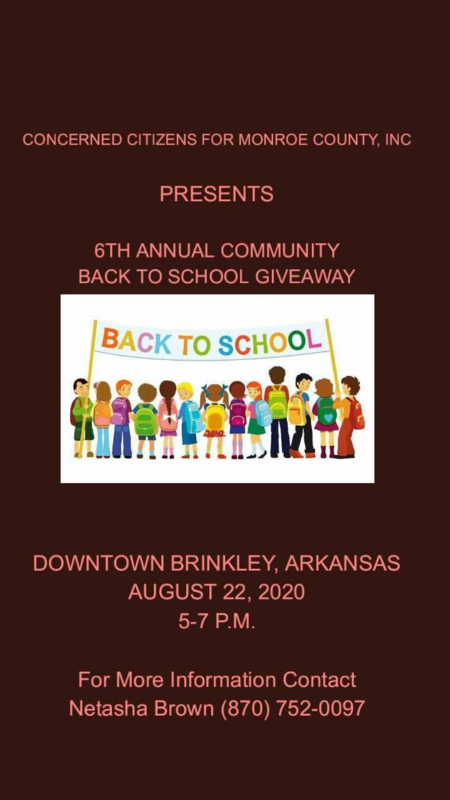 6th Annual Community Back to School Giveaway