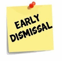 Early Dismissal 12-18-20