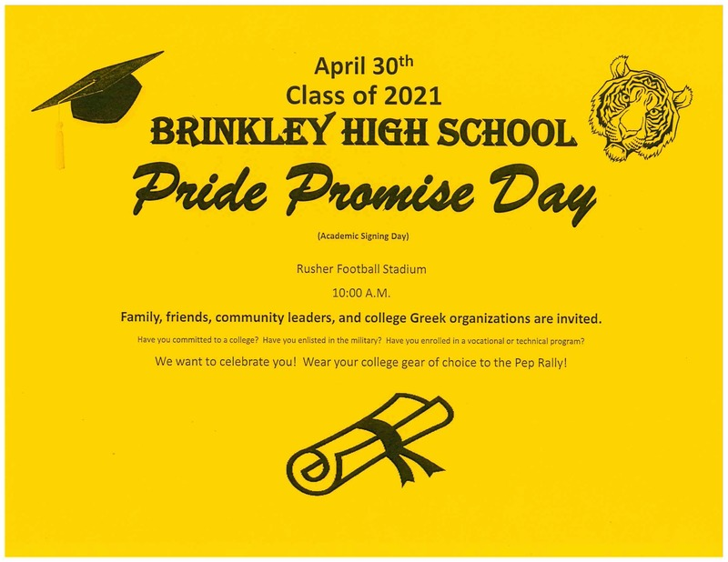 Pride Promise Day April 30th