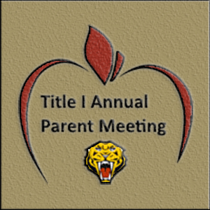 District Wide Annual Title 1 Parent Night