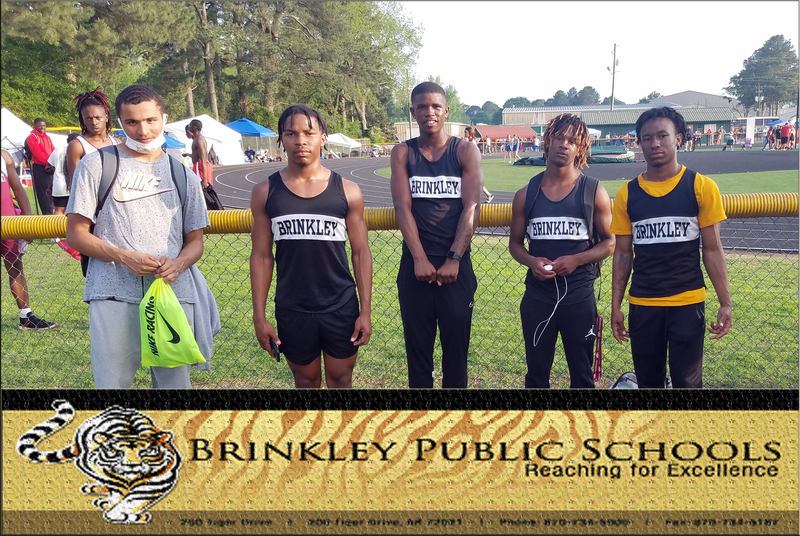 Congratulations to the Brinkley's Boys Track Team
