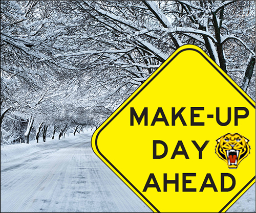 School Make-Up Day on April 16th